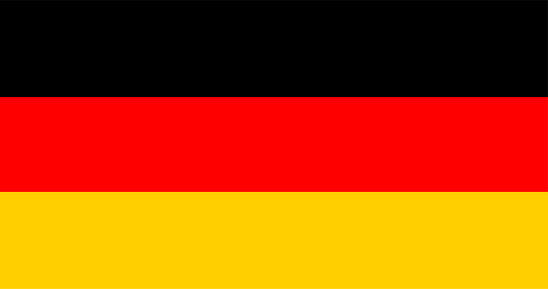 Illustration of German flag
