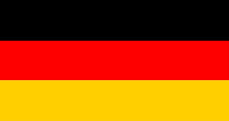 Illustration of German flag