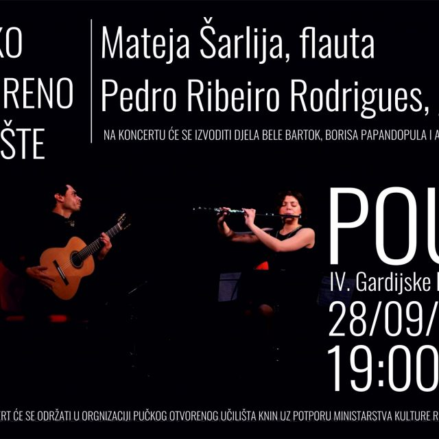Koncert Mateje Šarlije i Pedra Ribeira Rodriguesa