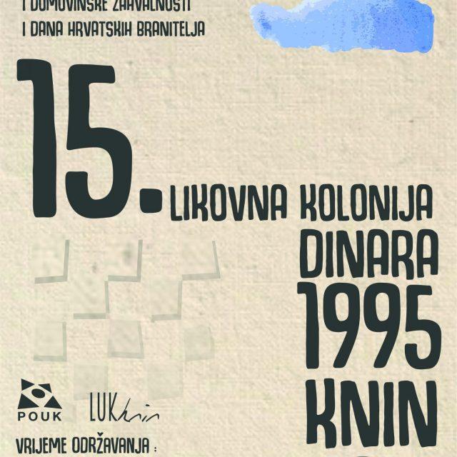 """15. Likovna kolonija """"DINARA '95. – Knin 2019"""""""