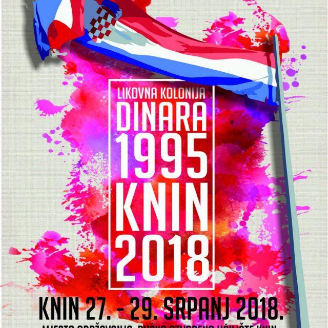 """Likovna kolonija """"Dinara 1995 – Knin 2018"""""""